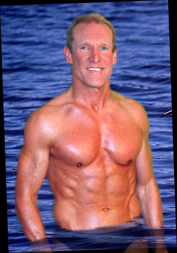 new york male fitness model over 50 fifty mark's Woody Harrelson military look Matthew McConaughey stand in look a like